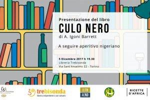 """A. Igoni Barrett presenta """"Culo Nero"""" presso Libreria Trebisonda"""