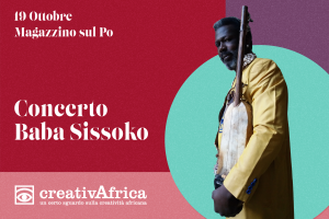 Concerto Baba Sissoko presso Magazzino sul Po