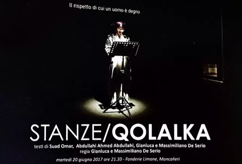 Spettacolo Stanze/Qolalka presso Fonderie teatrali Limone
