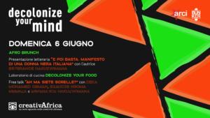 Reading // free talk // afro brunch // laboratorio di cucina decolonize your food