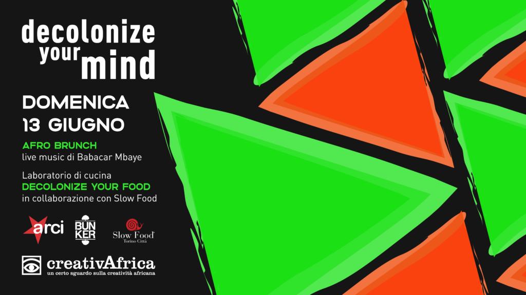 AFRO brunch // laboratorio di cucina DECOLONIZE YOUR FOOD