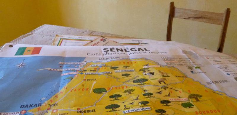 visitare il senegal cartina storia di renken onlus